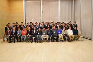 駒澤大学男子ラクロス部2016OBOG会集合写真