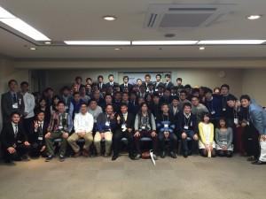 駒澤大学男子ラクロス部2015OBOG会集合写真