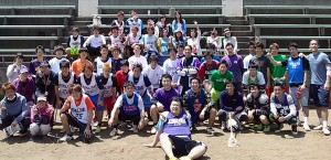 駒澤大学男子ラクロス部OB戦