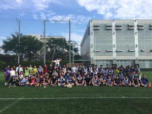駒澤大学男子ラクロス部2016年OBOG戦